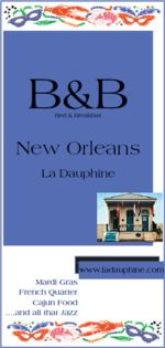 Downloadable PDF brochure of La Dauphine B&B